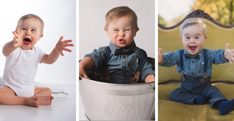 bebê ensaio modelo