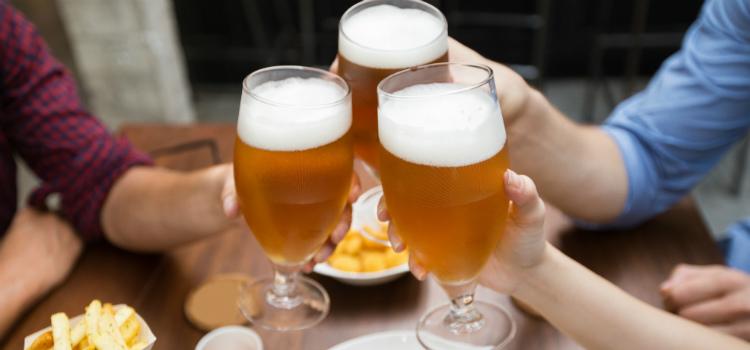 bebida alcoólica e o que não deve comer no resguardo