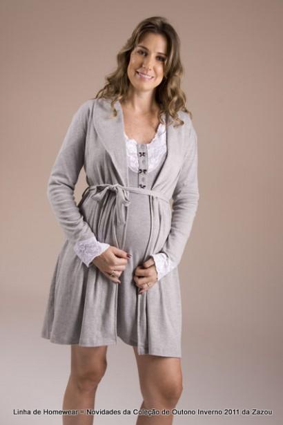 camisola para maternidade