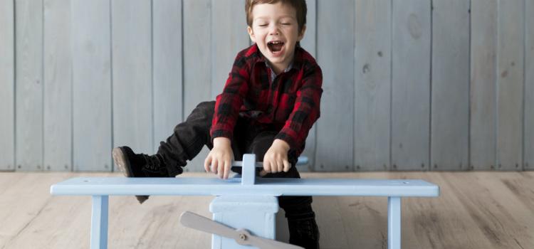 crianças devem correr riscos ao brincarem