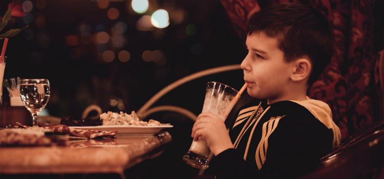 crianças podem tomar suco a partir de um ano
