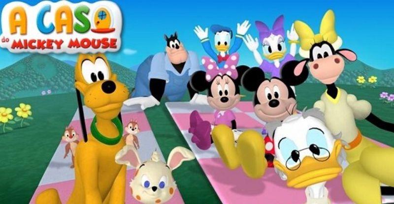 desenhos educativos a casa do mickey mouse