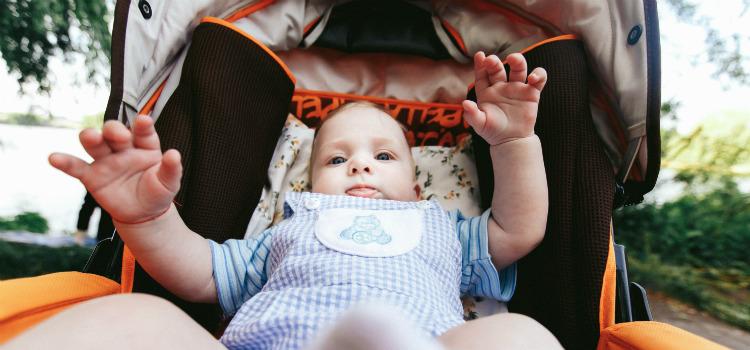escolher carrinho de bebê