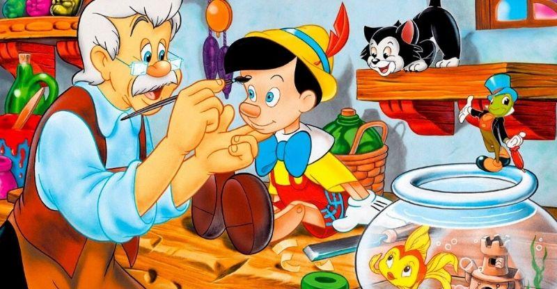 histórias infantis pinóquio