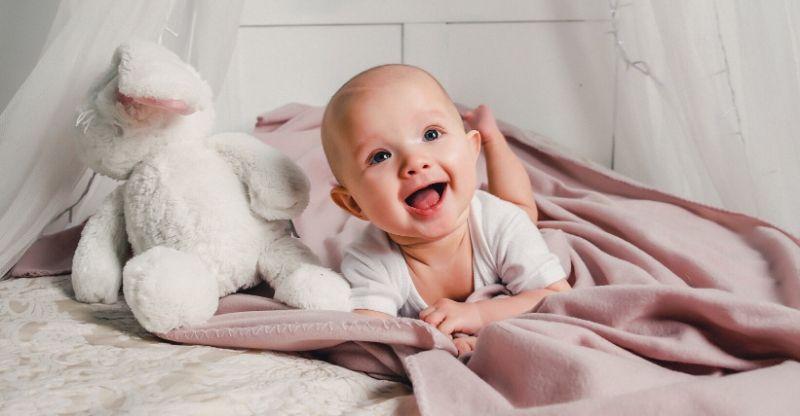 naninha para o bebê importância