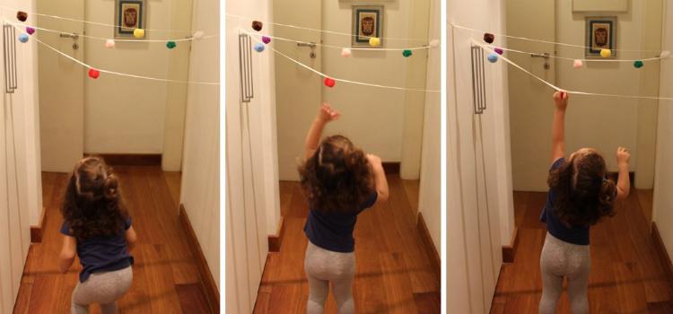 jogos para crianças de 3 anos pegue o pompom