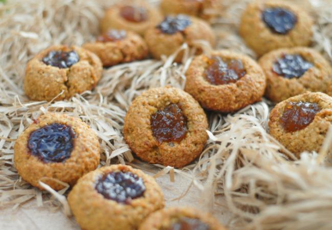 páscoa saudável biscoitos