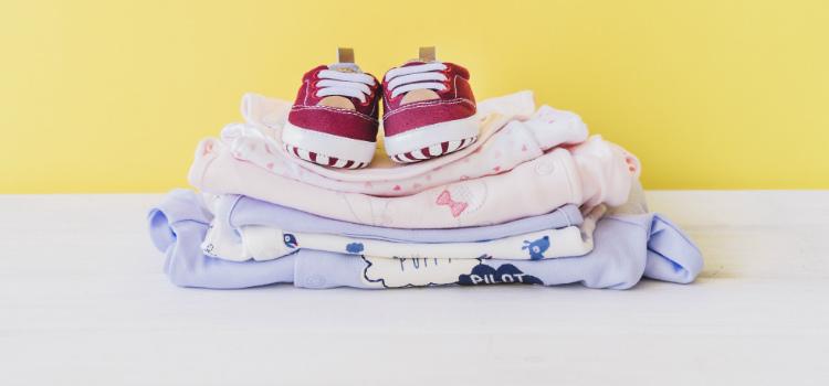 quando lavar roupas de bebê