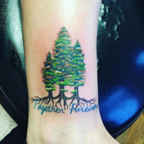 tatuagem de família e os símbolos
